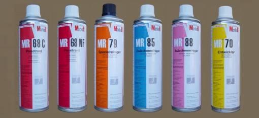 Пенетрант красный и флуоресцентный MR 68 NF для капиллярного контроля согласно ДСТУ EN 571-1